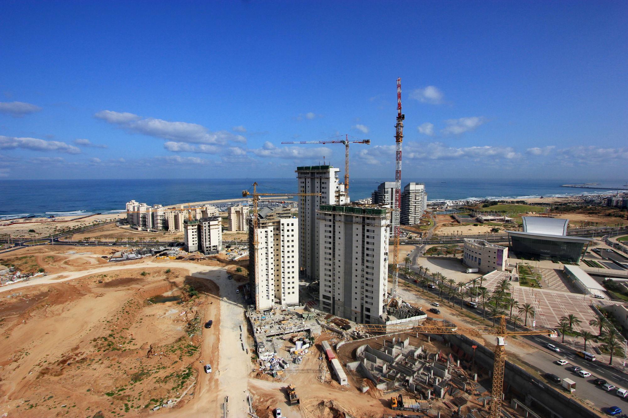 בניית דירות חדשות באשדוד