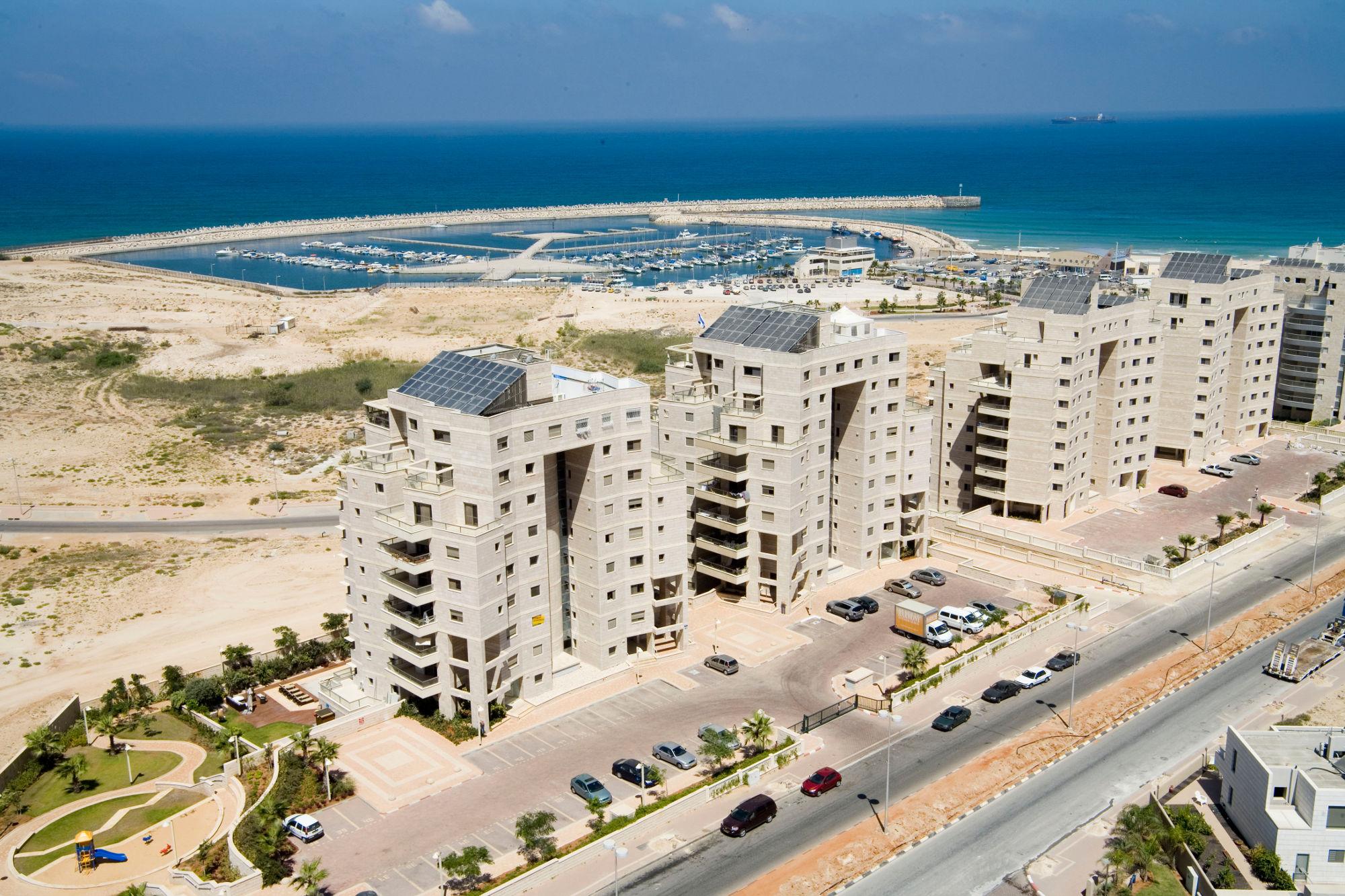 מרינה אשדוד | דירות חדשות מקבלן על הים