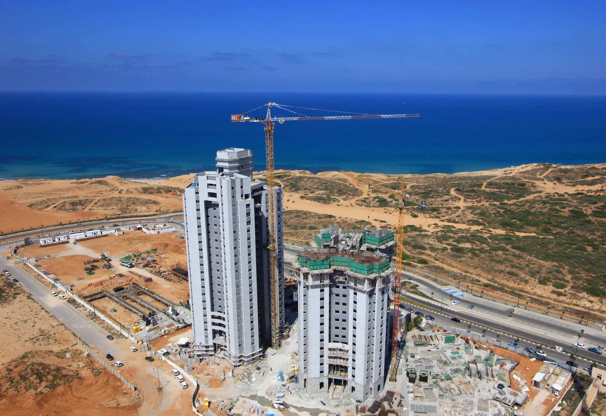 שמורת נתניה - בניית דירות חדשות